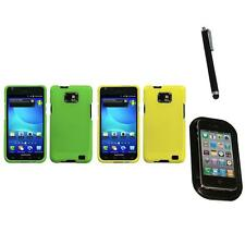 For Samsung Galaxy S2 i9100 Snap-On Hard Case Cover Skin Accessory Mount+Pen