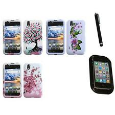 For LG Optimus Black P970 Design Snap-On Hard Case Phone Cover Mount+Pen