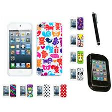 For Apple iPod Touch 5th 6th Gen TPU Design Case Phone Cover Mount+Pen