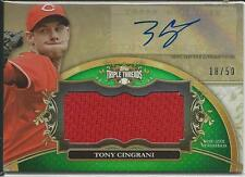 TONY CINGRANI 2013 TRIPLE THREADS UNITY RELIC AUTOGRAPHS  #18/50   MAKE OFFER!!!