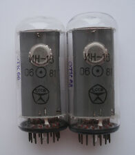NEW!!! IN-18 NIXIE DISPLAY TUBES FOR NIXIE CLOCK TESTED (2 PCS) 1981