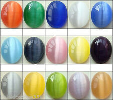 CATS EYE BEADS FIBER OPTIC 6MM COLOR CHOICE CHART CATSEYE