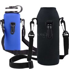 1L Water Bottle Carrier Insulated Cover Case Pouch bag Holder for Sports Travel