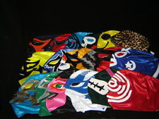 #2 LOT 18 ADULT MEXICAN WRESTLING MASK FREE SHIPPING WORLDWIDE