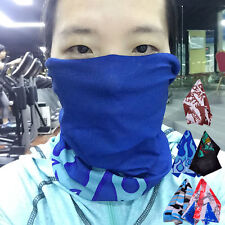 Sport Biker Scarf Face Mask Neck Tube Bandana Snood Wrap Hood Beanie Head Wear