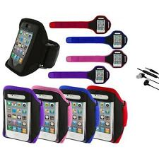 Color Running Sports Gym ArmBand+Earphone Mic for iPhone 4 4G 4S 3GS S 3G 2G