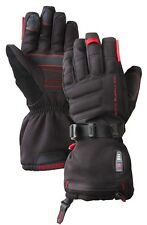 NEW $250 Mens Gyde S4 Electric Battery Powered Heated Gerbing Black Ski Gloves