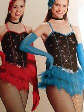 Jazz Dance Costume Tap Pageant skate Competition Red Hot Mama