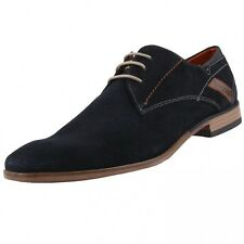 New BUGATTI Mens Low Shoes Lace-up Leather Shoes Business Shoes