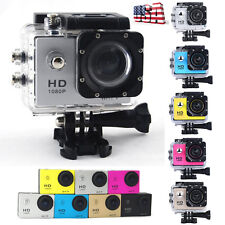 1080P Full HD DV Waterproof Action Sports Camera Recorder Car Camcorder US STOCK