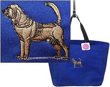 Bloodhound Hunting Dog Custom Embroidered Essential Tote Bag NWT