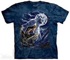 WOLF SPIRIT MOON ADULT T-SHIRT THE MOUNTAIN