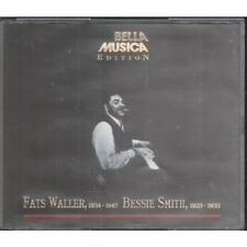 FATS WALLER/BESSIE SMITH S/T DOUBLE CD European Bella Musica 2 Disc Set