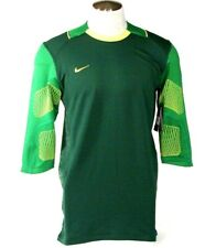 Nike Dri Fit Green Confidence 3/4 Sleeve Goalkeeper Jersey Mens NWT