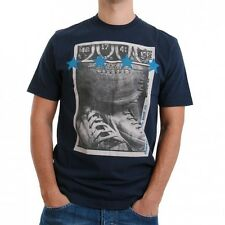 Converse T-Shirt Men - TEAM PHOTO 01753C - Dress Blues