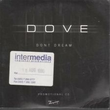 DOVE Don't Dream CD UK Ztt 1999 1 Track Promo With Info Stickered Card Sleeve