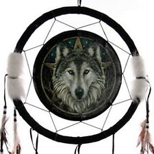 WOLF & STAR DREAM CATCHER LARGE - a perfect gift idea