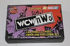 Racing Champions 1/64 Diecast WCW/NWO 12 Pc Stock Car Collector Set WWF
