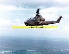 Army Bell AH-1G Cobra Gunship Helicopter Color Photo Military Aircraft Vietnam