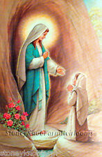 Our Lady Of Lourdes Blessed Virgin Mary ~ Religious ~ Cross Stitch Pattern