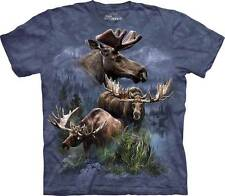 MOOSE COLLAGE ADULT T-SHIRT THE MOUNTAIN