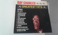 RAY CHARLES GREATEST HITS RARE   ISRAELI LP