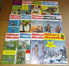 """MULTI-LIST SELECTION OF """"MILITARY MODELLING MAGAZINE""""  VOL 2  FROM YEAR 1972"""