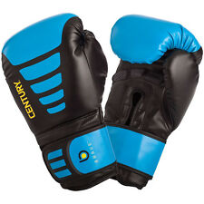Century Brave Hook and Loop Training Boxing Gloves - Black/Blue
