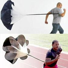 Speed Drills Resistance Parachute Running Chute Power Tool Portable DT E0F4