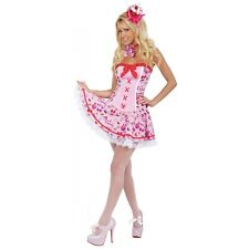 Sexy Cupcake Costume Adult Womens Candy Girl Halloween Fancy Dress