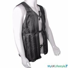 Authentic Weighted Vest 10Kg 20Kg Gym Weight Jacket Running Training Adjustable