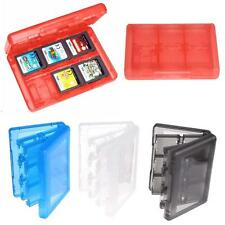 Game Card Carry Case Holder 28 in 1 Cartridge Storage Box for Nintendo 3DS DSL