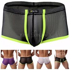 Trunks Mens Sexy Breathe Underwear Briefs Boxer Bulge Pouch Shorts Underpants