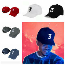 New Chance The Rapper 3 Dad Hat Baseball Cap Adjustable Letter Embroidery HipHop