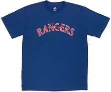 Texas Rangers Primary Logo Crewneck Youth T-Shirt Blue
