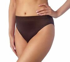 NEW Breezies Set 3 Pairs Nylon Lycra Misses Hi-Cut Briefs Panties A45690