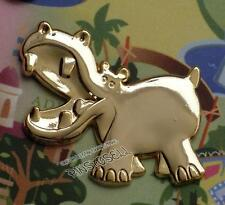 JUNGLE CRUISE HIPPO 10th ANNIVERSARY GOLD GWP FRAMED DISNEY PIN LE 100