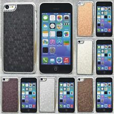 New Luxury Chrome Design hard case Cover for Iphone 5C