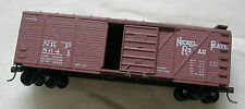 Vintage assembled HO scale Nickel Plate 40' box car NKP 8041 ca. 1990 Roundhouse