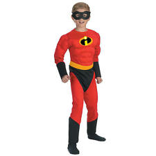 Boy's The Incredibles Dash Muscle Halloween Costume - Child Size