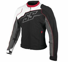 Speed and Strength Men's Hammer Down Textile Jacket White Red Free Size Exchange