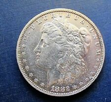 1882 O MORGAN DOLLAR VAM 38B DIE CLASHED G First t, t, D,  M, Die Break N & Star