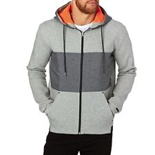 Quiksilver Hoodies - Quiksilver Highland Gaze Zipped Hoody - Light Grey Heather