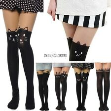 Sexy Fashion Pantyhose Design Pattern Printed Tattoo Stockings Tights ED