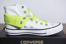 New All Star Converse Chucks Hi Two Fold white 542590c Gr.37 UK4,5 2-14