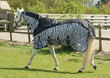 Rhinegold Masai Full Neck Combined Outdoor/Fly Horse Rug With Waterproof Topline