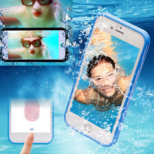 Ultra-thin Waterproof Shock Dirt Proof 360° Full Body Protective Case for iPhone