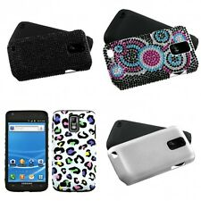 For Samsung Hercules T989 Hybrid 2-Piece Hard Soft Case Phone Cover Skin