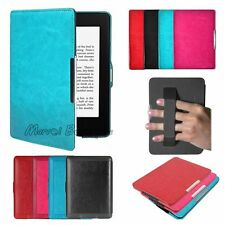 Magnetic Leather Smart Case Cover For Amazon Kindle Paperwhite Kindle Sleep/Wake