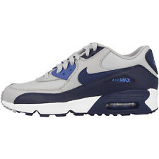 Nike Air Max 90 Leather GS shoes grey Trainers 833412-009 Skyline Command BW 97